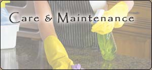 Manufacturer Care and Maintenance Guides